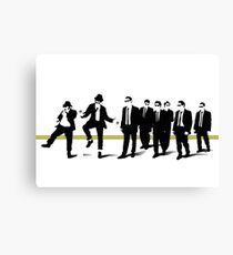 Reservoir mashup Canvas Print
