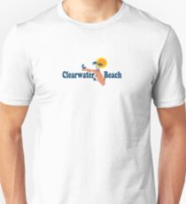 Clearwater Beach - Florida. Slim Fit T-Shirt
