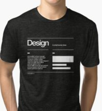 Design Tri-blend T-Shirt