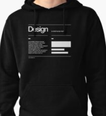 Design Pullover Hoodie