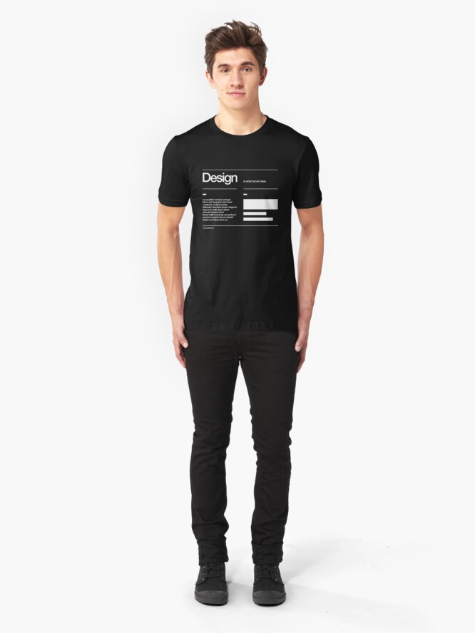 Alternate view of Design Slim Fit T-Shirt