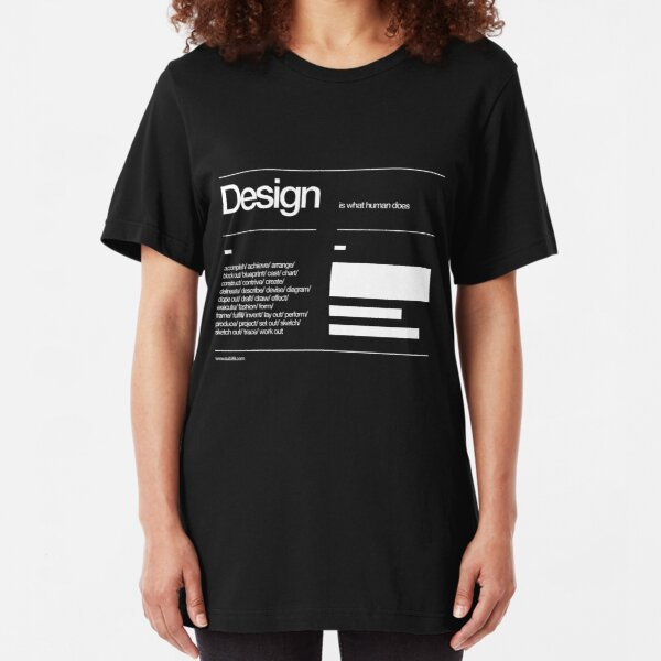 Design Slim Fit T-Shirt