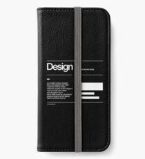 Design iPhone Wallet/Case/Skin
