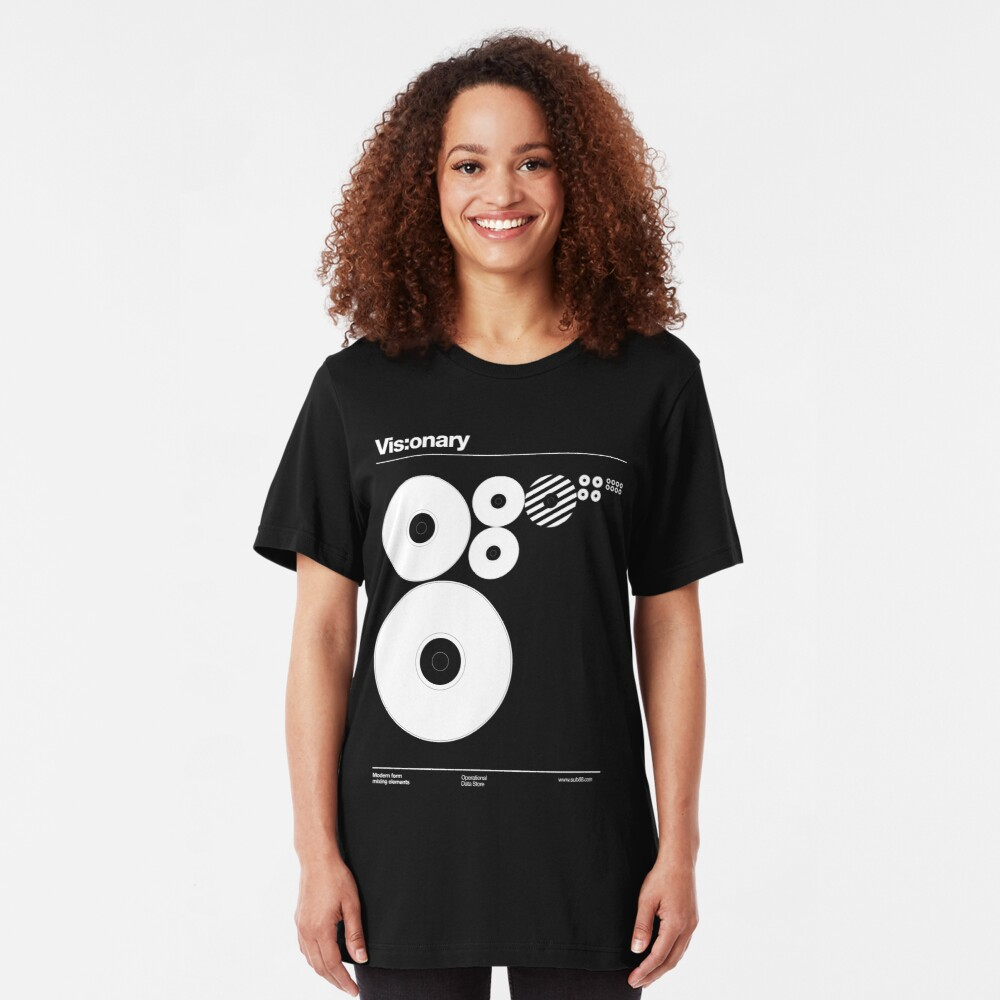 Vis:onary /// Slim Fit T-Shirt