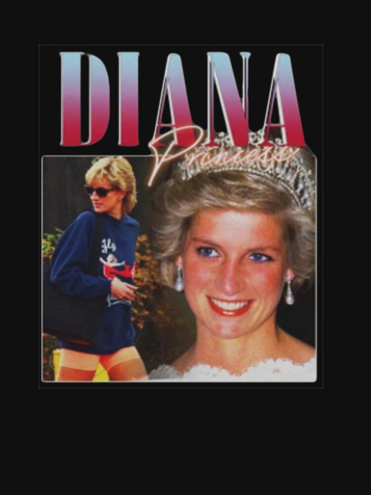 PRINCESS DIANA  Rap Hip Hop Princess Diana 90s Retro Vintage  by cercleshop
