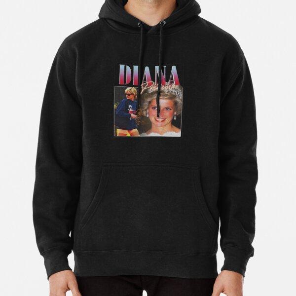 PRINCESS DIANA  Rap Hip Hop Princess Diana 90s Retro Vintage  Pullover Hoodie