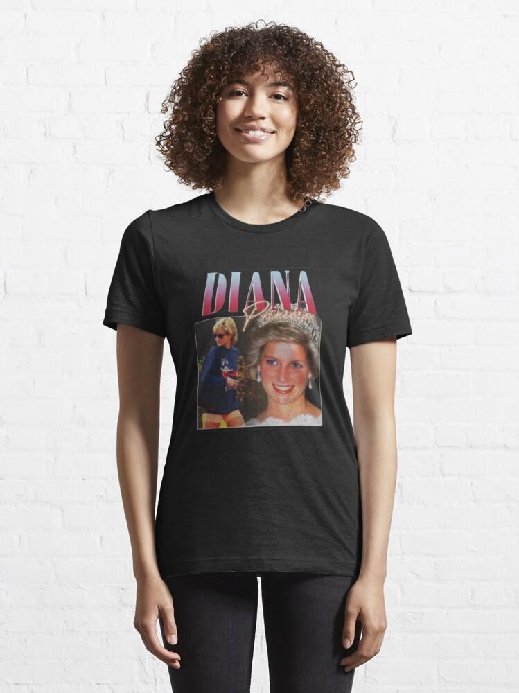 Alternate view of PRINCESS DIANA  Rap Hip Hop Princess Diana 90s Retro Vintage  Essential T-Shirt