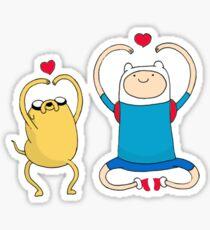 Jake and Finn Sticker