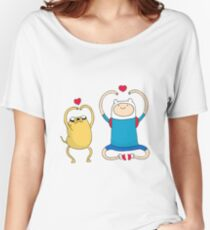 Jake and Finn Women's Relaxed Fit T-Shirt