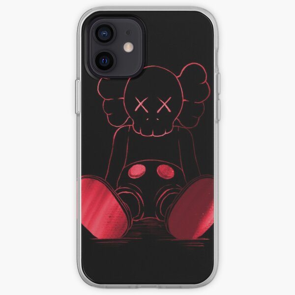 Red and Black companion iPhone Soft Case