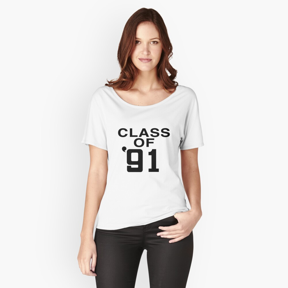 CLASS OF '91 [AS WORN BY GAZ COOMBES/SUPERGRASS] | Women's Relaxed Fit  T-Shirt