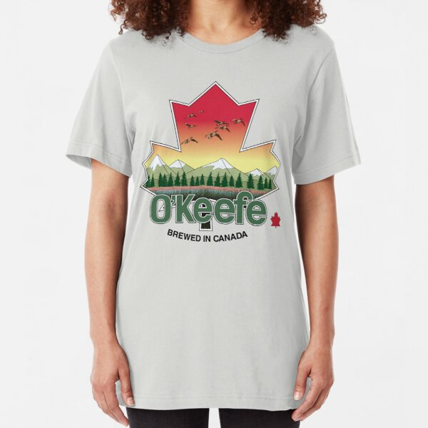 O'Keefe Brewery - Brewed in Canada Slim Fit T-Shirt