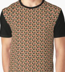 Pezz Heads Most Wanted  Graphic T-Shirt