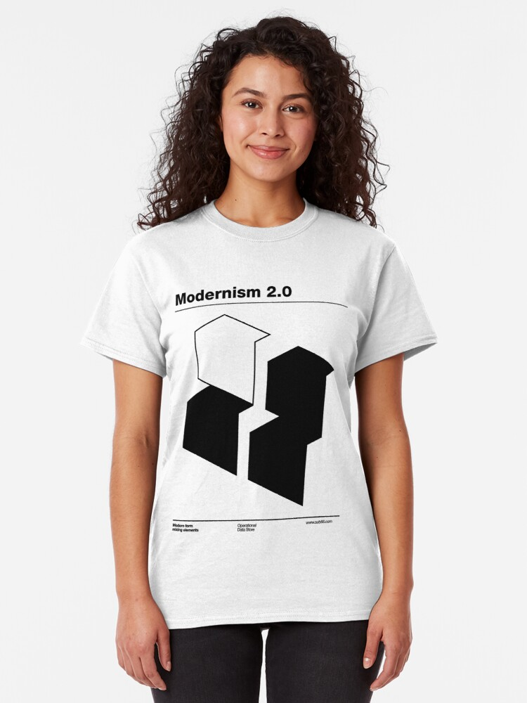 Alternate view of Modernism 2.0 (b) Classic T-Shirt