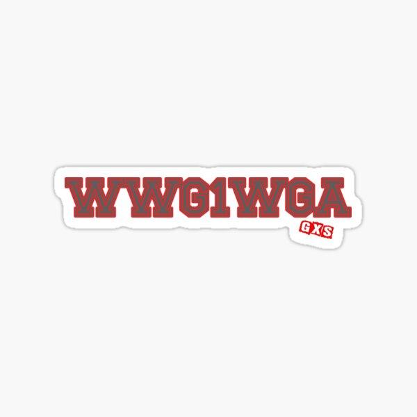 GXS - WWG1WGA - #01 Sticker