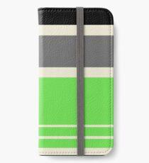 Art Green iPhone Flip-Case/Hülle/Klebefolie