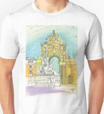Terreiro do Paço. Unisex T-Shirt