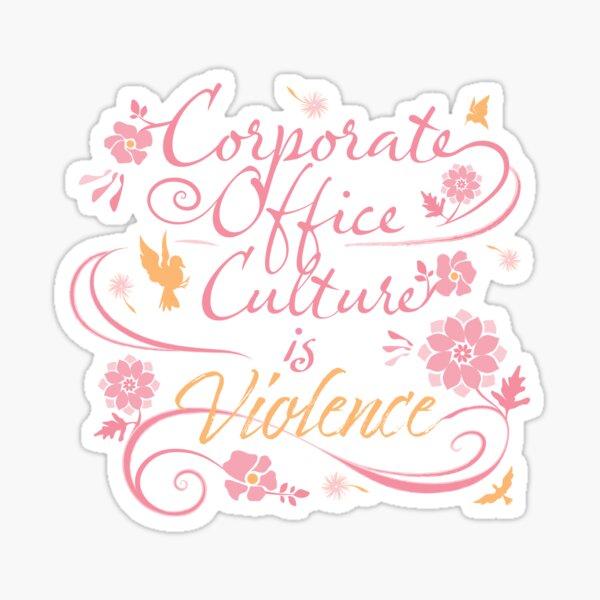 Corporate Culture Sticker