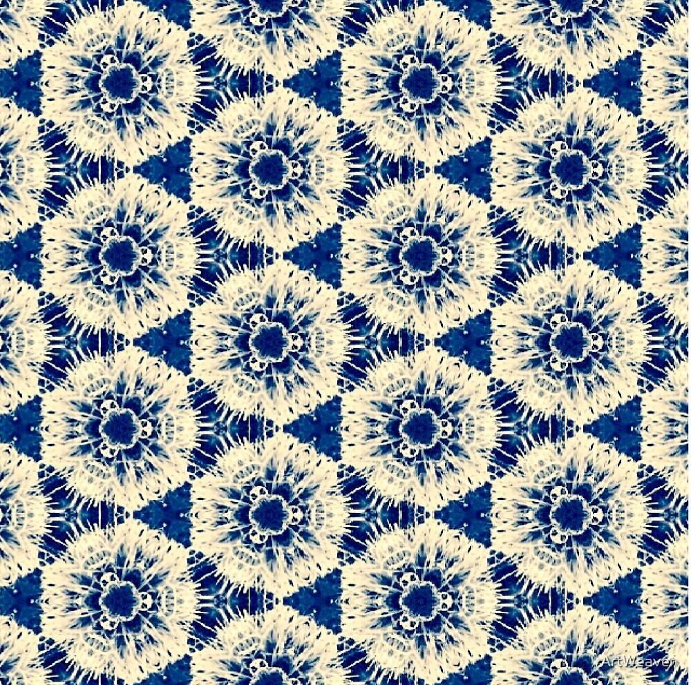 Blue Pattern by ArtWeaver