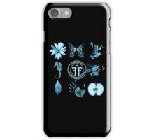 Fringe Glyphs with Division symbol iPhone Case/Skin