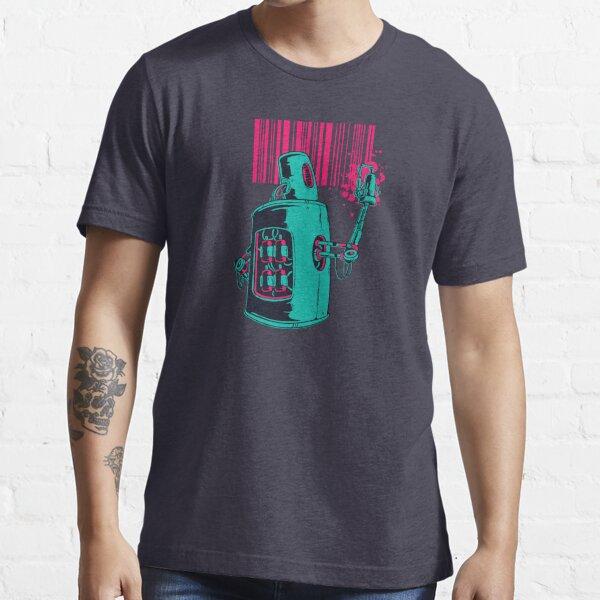 Robot Graffiti Illustration Essential T-Shirt