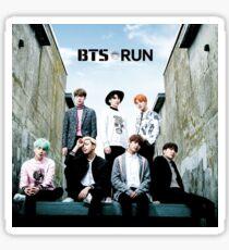 BTS Run Sticker