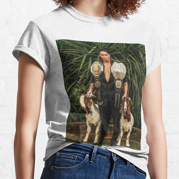 amanda nunes ufc poster Classic T-Shirt