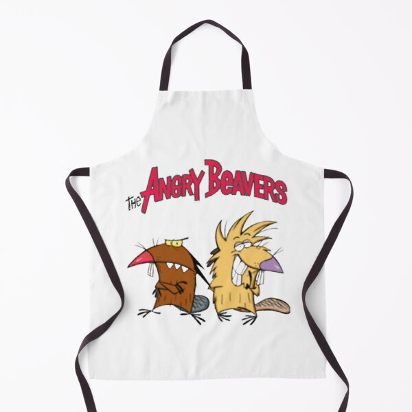 The Angry Beavers  Apron
