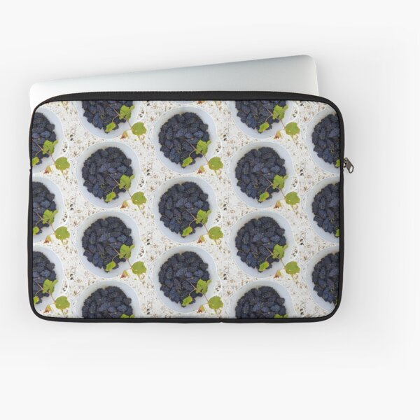 Grapes in a Bucket by Avril Thomas Laptop Sleeve