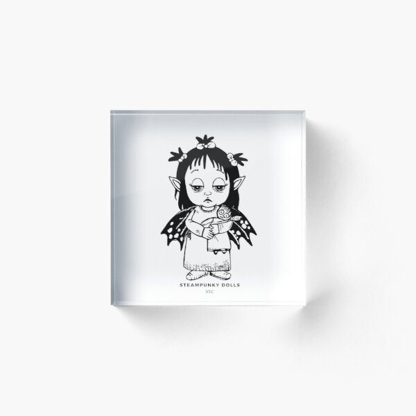 Bed Time Fairy Acrylic Block