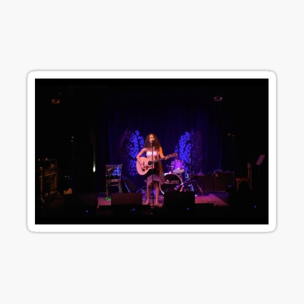 Abby Rose - Live on Stage Sticker