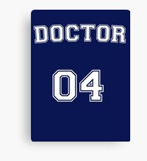 Doctor # 04 Canvas Print