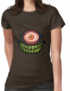 Face of death Womens Fitted T-Shirt