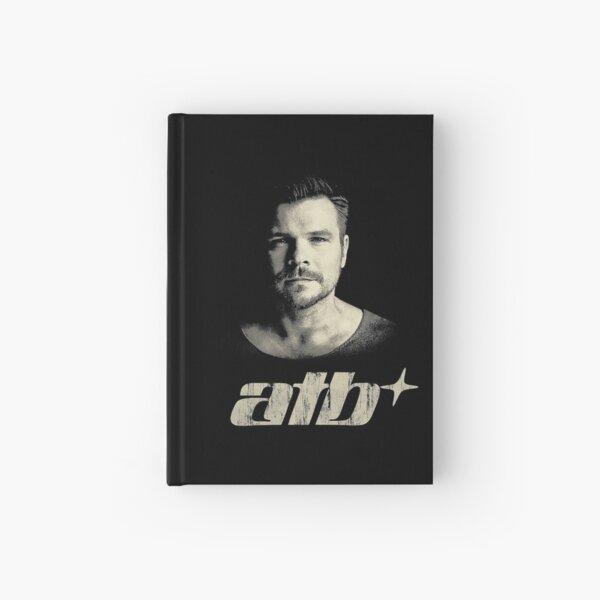 ATB classic progressive trance vintage retro distressed tshirt design Hardcover Journal