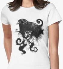 weather the crows Women's Fitted T-Shirt
