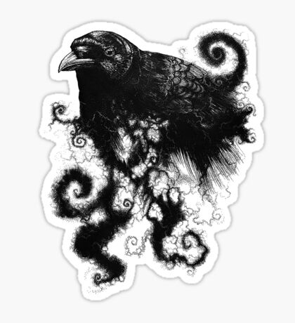 weather the crows Sticker