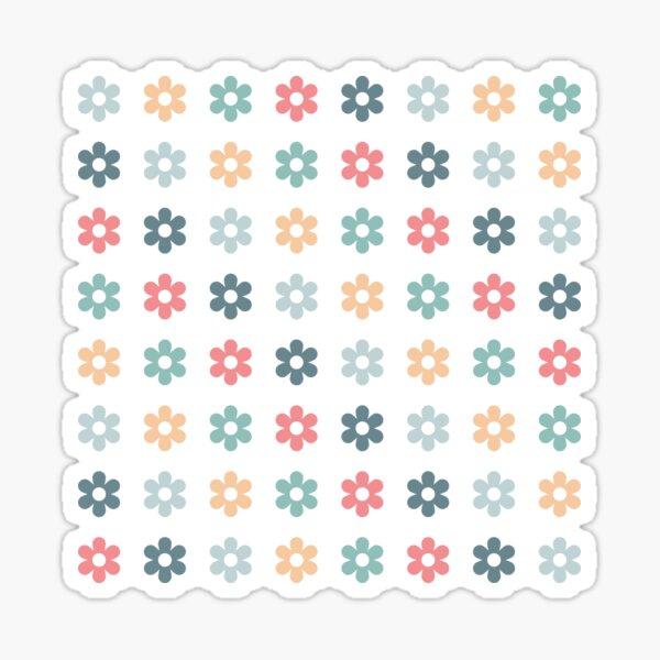 Pastel Florets Sticker