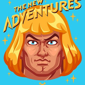 The New Adventures – He-Man by oneappleinbox