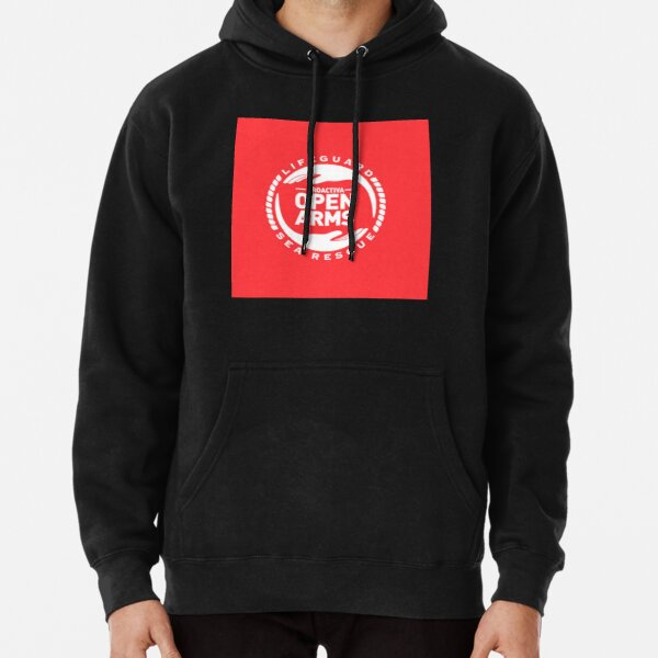 Open Arms Sea  Pullover Hoodie