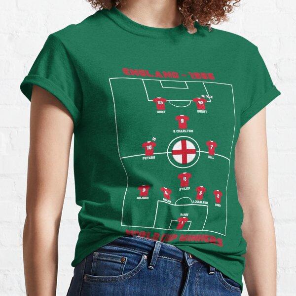 England 1966 World Cup Legendary Team - Wear Football / Soccer History Classic T-Shirt