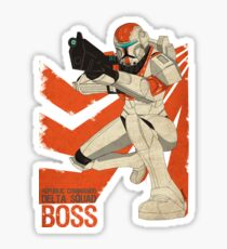 Republic Commando Boss Sticker