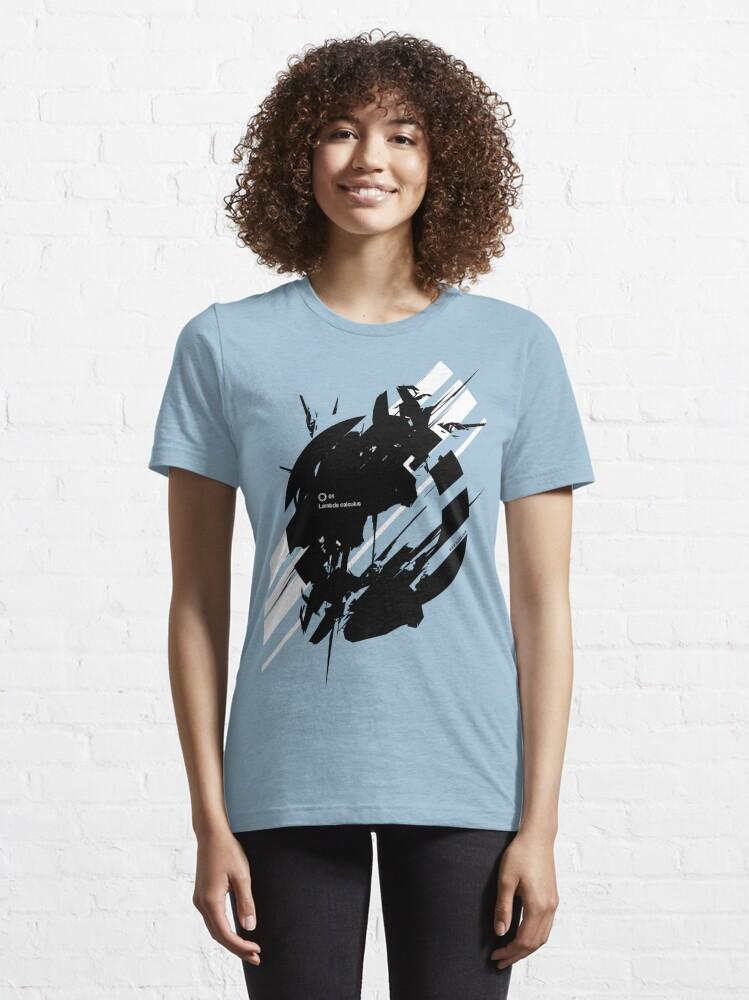 Alternate view of LAMBDA CALCULUS Essential T-Shirt