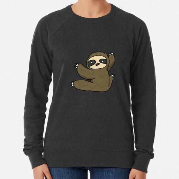 Climbing Sloth Lightweight Sweatshirt