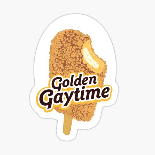 Golden Gaytime Sticker