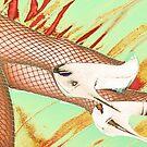 Fishnet Pop Art by SexyEyes69