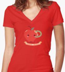 Love Bites Women's Fitted V-Neck T-Shirt