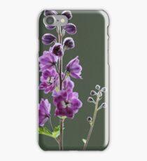 Delphinium iPhone Case/Skin