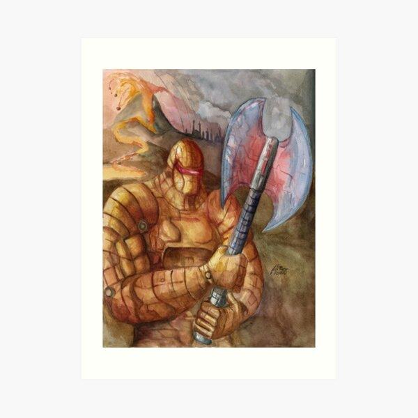 Pyro Guardian Art Print