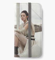 Star Wars The Force Awakens - Rey Cosplay iPhone Wallet/Case/Skin