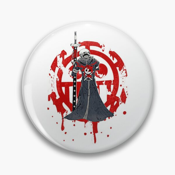 trafalgar law Custom Pin Buttons